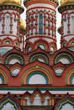 Moscow. Church. Details. Travel in Russia. Moscow. Church of the Saint Nicholas the Wonderworker (Bersenevka Royalty Free Stock Image