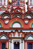 Moscow. Church. Details. Travel in Russia. Moscow. Church of the Saint Nicholas the Wonderworker (Bersenevka Royalty Free Stock Images