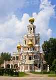 Moscow, church in Fili Royalty Free Stock Images