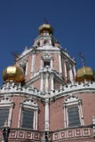 Moscow. Church Holy Virgin Protection Royalty Free Stock Image