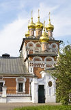 Moscow, church in Izmaylovo Royalty Free Stock Images