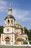 Moscow, church in Izmaylovo Stock Image