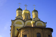 Moscow church  mother   god signs varvarka street Royalty Free Stock Photos