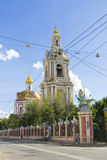 Moscow, church of Nikita Martyr Royalty Free Stock Images