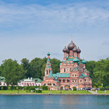 Moscow, Church in Ostankino. Russia Royalty Free Stock Photo