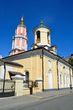 Moscow, the church of saint Theodore Stratelates in Archangelsky lane Stock Photos
