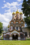 Moscow, church of St. Nikolas Royalty Free Stock Photo