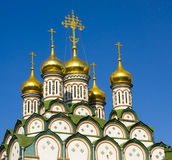 Moscow, church of St. Nikolas Stock Image