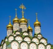 Moscow, church of St. Nikolas Stock Image