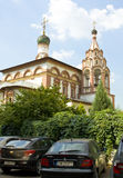 Moscow, church of Three Saints Stock Photography