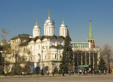 Moscow, church of Twelve Apostles Stock Photo