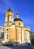 Moscow church  varvara   great martyr orthodox Royalty Free Stock Photo