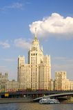 Moscow citiscape Royalty Free Stock Photography
