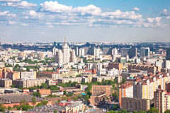 Moscow city 2. Moscow city - capital of Russian Federation. Aerial view royalty free stock image