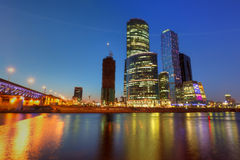Moscow City Royalty Free Stock Photos