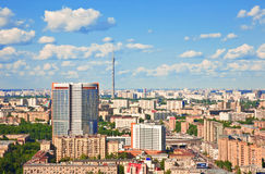 Moscow city 7. Moscow city - capital of Russian Federation. Aerial view royalty free stock image
