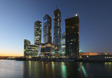 Moscow-City. Moscow International Business Centre Stock Photography