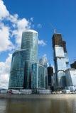 Moscow City 8 Stock Photo