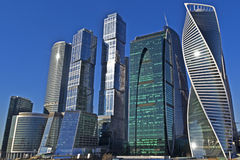 Moscow City area Royalty Free Stock Image
