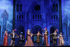 Moscow City Ballet Romeo and Juliet Royalty Free Stock Image