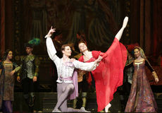 Moscow City Ballet Romeo and Juliet Stock Image