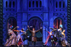 Moscow City Ballet Romeo and Juliet Stock Photography