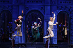 Moscow City Ballet Romeo and Juliet Royalty Free Stock Images