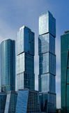 Moscow City business center. Stock Photography
