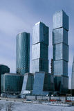 Moscow City business center. Royalty Free Stock Photography
