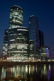 Moscow-city business center Stock Image