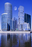 Moscow-city business center. Russia Royalty Free Stock Image