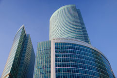Moscow-city business center Royalty Free Stock Photography