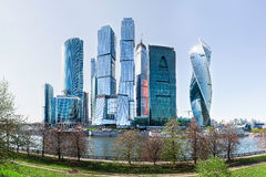 Moscow-city business center, Moscow, Russia. Stock Photography