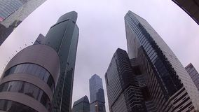 Moscow City. Business center, a quarter of skyscrapers in Moscow, the capital city of Russia Stock Images