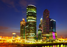 Moscow-city business center. Russia Stock Photography