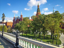 Moscow city center Royalty Free Stock Images