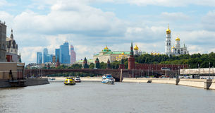 Moscow city center Stock Photography