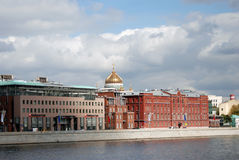 Moscow city center panorama. Stock Photography