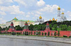 Moscow city centre Royalty Free Stock Photos