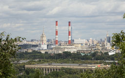 Moscow city royalty free stock photography