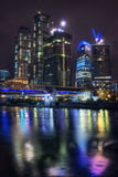 Moscow City complex Royalty Free Stock Image