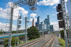 Moscow City Complex, Russia Stock Photo