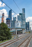Moscow City Complex, Russia Royalty Free Stock Photos