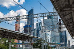 Moscow City Complex, Russia Royalty Free Stock Images