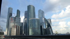 Moscow-city complex. Towers of Moscow-city stock photography
