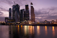 Moscow-city Royalty Free Stock Photo