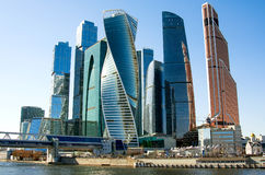 MOSCOW CITY. Moscow-city Moscow International Business Center, Russia Royalty Free Stock Photography