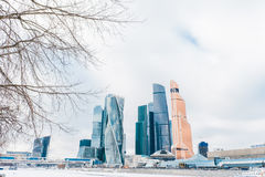 Moscow City International Business Center in Russia Stock Photography