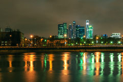 Moscow city Royalty Free Stock Images