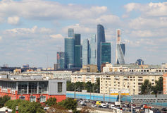 Moscow city international business centre, Russia Stock Photo